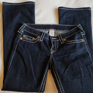 True Religion Jeans SZ28 Mid-rise Style#WLHK67FK4